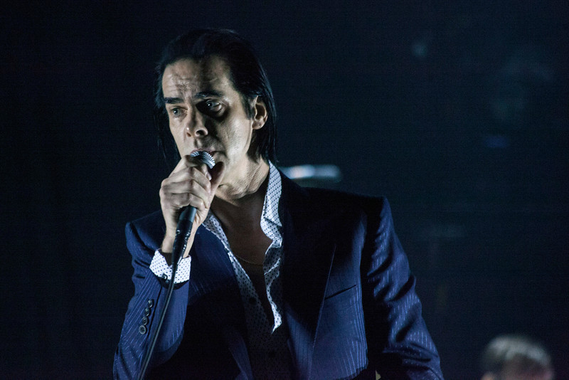 Post-punk/rocker Nick Cave packed the Palace Theatre on Monday night with Gen-X-er's eager to see his band The Bad Seeds perform their eclectic and decade-spanning songbook.