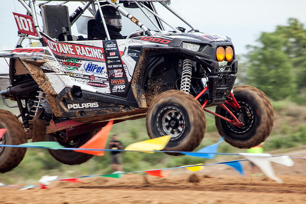The Unlimited Off-Road American Show & Expo rolled into the Fairgrounds this weekend drawing a crowd in the thousands to watch a variety of vehicles compete rally-style on a specially designed track on the south side of Phillips Lane.