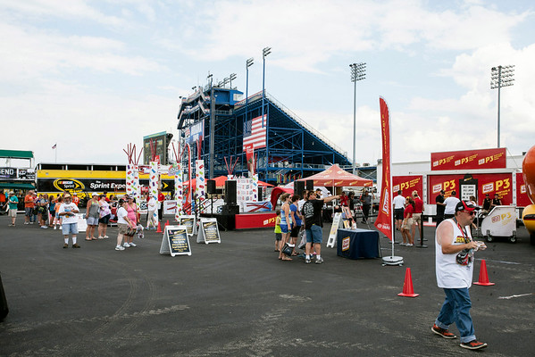 The concourse area is a favorite amongst fans of all ages offering color, detail, food, beverage, and games of chance.
