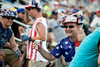 Patriotism, NASCAR-loyalty, and open beverages of all varieties were a common theme throughout the track.