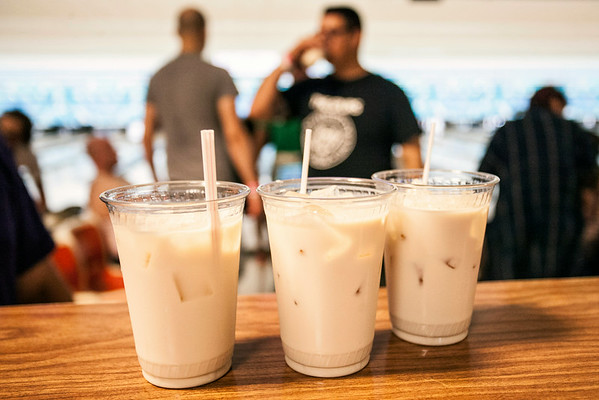 White Russians are the drink of the Lebowski Fest.