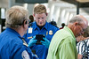 TSA agents at Louisville International Airport screen passengers with an ID check and facial confirmation on Monday afternoon. A July deadline looms as Kentucky scrambles to satisfy federal homeland security officials' concerns about its driver's licenses.