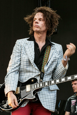Gen-X legends The Replacements brought their distinctive college rock-punk rock-alternative sound to the Mast Stage on Sunday at Forecastle Fest.