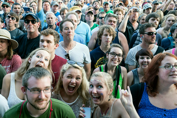 The crowd was also deep for Gen-X favorites The Replacements.