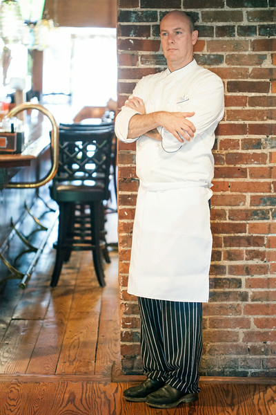 Chef Shawn Ward is a man with a menu and a plan for The Brewery on Baxter Avenue.