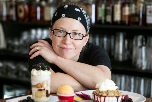 Pastry Chef Patty Knight supplies the sweet to the dining experience at Harvest.
