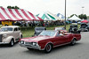 The massive area at the Fairgrounds for the Street Rod Nationals was a landcsape of tents, parked classics as far as the eye could see, and proud cruising owners showing off their rides.