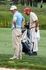 Caddie Mike Waskuvich works a practice round with Valhalla Club Pro Matt Pesta on Tuesday afternoon.
