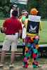 The variety of styles from the fans at Valhalla represent the conservative approach to the flamboyant display.