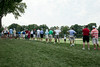 The crowds came out early on Thursday as the opening round of the 2014 PGA Championship began at Valhalla.