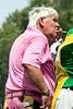 Golfer John Daly takes a smoke break between swings.