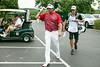 Bubba Watson makes his way to the next hole.