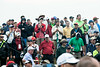 The fans liked what they saw as Rory McIlroy finished his second round of the 2014 PGA Championship with the lead on Friday at Valhalla.