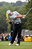 Rory McIlroy tees off on the 8th hole at Valhalla on Friday during the second round of the 2014 PGA Championship.