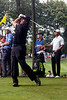 Phil Mickelson proved to be a crowd favorite despite playing with the internationally known Tiger Woods.