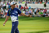 Rickie Fowler takes care of business on the 18th hole at Valhalla on Saturday. He shot a 67 on the day and is in 3rd place with a -11 for the weekend.