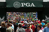 The PGA fans were deep on Sunday as Round 4 of the 2014 Championship continued at Valhalla.