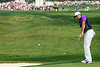 Rory McIlroy continued to shine on the front nine during the final round of the 2014 PGA Championship at Valhalla on Sunday.