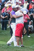 Rory McIlroy finishes strong on the 18th hole to win the 2014 PGA Championship at Valhalla on Sunday.