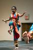 Natya Kendra Dance Academy student Veena Pendyala strikes a classical pose during a dress rehearsal. 9/12/14