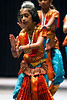 Nayta Kendra Dance Academy student Trisha Paily goes through the classical moves during dress rehearsal. 9/12/14