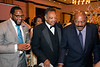NFL greats Ray Lewis (left) and Jim Brown (right) join the Reverend Jessie Jackson during the Muhammad Ali Humanitarian Awards on Saturday night. 9/27/14
