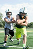 Floyd Central quarterback Colton Kimm and running back Gaige Klingsmith are a pair built on speed and athleticism.