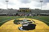 Floyd Central is now one of three area schools that has artificial turf in their stadium.
