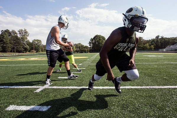 The Floyd Central trio of quarterback Colton Kimm, running back Gaige Klingsmith, and fullback Garry Posey will guide the offense with senior leadership.