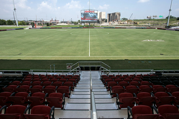 The detail and splendor of UofL's new Dr. Mark & Cindy Lynn Soccer Stadium will impress all visitors.