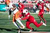 UofL linebacker James Burgess brings down Virginia wide receiver Canaan Severin in the second half on Saturday. 11/14/15