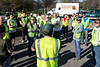 The first of a collaboration between The Courier-Journal and Olmsted Parks brought out thirty-eight volunteers eager to help clean up Seneca Park's boundaries on Thursday afternoon. 4/14/16