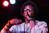 Rapper B Shatter takes to the stage at Tim Faulkner Art Gallery during the LouiEvolve Hip Hop & Arts Festival. 4/17/16