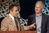 Kentucky governor Matt Bevin officially names Kenny Mayne of ESPN a Kentucky Colonel during the 2016 They're Off! Luncheon on Friday. 4/22/16