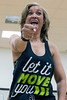 The boundless energy of Zumba fitness instructor Stephanie Lackey makes her class a popular one at the Baptist East/Milestone Wellness Center. 4/25/16