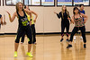 Stephanie Lackey keeps her Zumba class fun with high energy moves and lots of smiles. 4/25/16