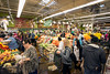 The new Fresh Thyme on Shelbyville Road filled quickly as the doors opened at 7AM on Wednesday morning. Special giveaways were part of a bonus to the earliest arrivals. 4/27/16