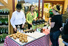 Free muffins and sparkling cider were two more of the bonuses available to the early shoppers at the opening of the new Fresh Thyme in St. Matthews on Wednesday morning. 4/27/16