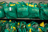 The new Fresh Thyme in St. Matthews offered a free bag of healthy groceries to the first 250 customers during the opening on Wednesday morning. 4/27/16