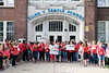 Parents, students, and teachers rallied on the steps of Semple Elementary on Monday morning in unified opposition to the planned JCPS salary freezes and code of conduct revisions. 5/2/16