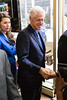 Former president Bill Clinton traveled through Louisville with Secretary of State Alison Lundergan Grimes during a campaign visit on Tuesday afternoon. 5/3/16