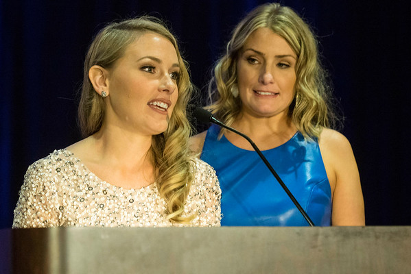 Sisters Aimee Boyle Wulfeck and Kim Boyle founded the annual Ferdinand's Ball in 2010 as a way of saving aging race horses from the slaughterhouse. 5/5/16