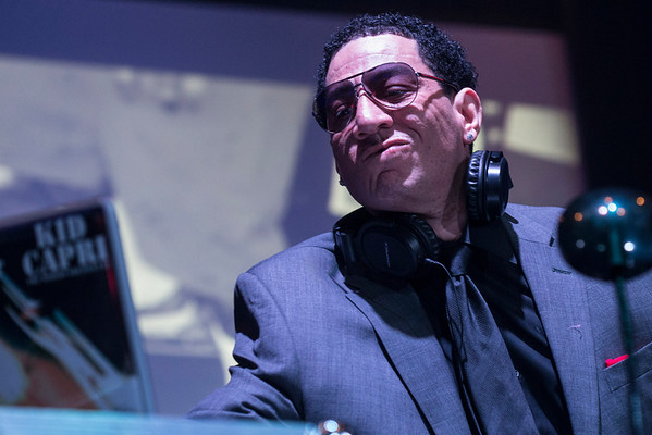 DJ Kid Capri brought the late night jams to the annual Darrell Griffith Foundation Experience at the Kentucky International Convention Center on Saturday night. 5/8/16