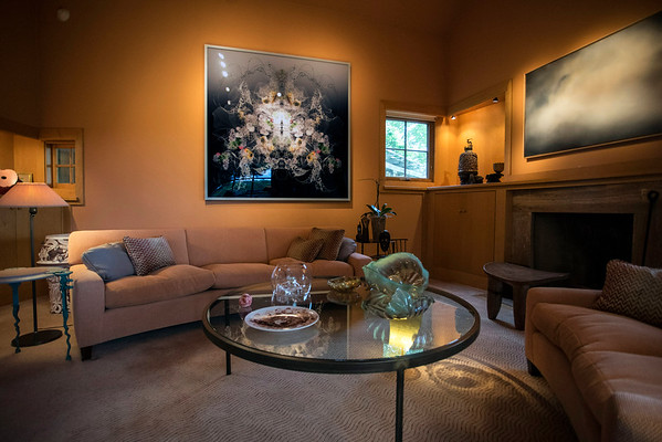 Each room at Great Meadows in Crestwood boasts an array of art with a color scheme to accent it all. 5/14/16