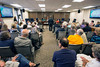 It was packed in room 418 at the Clark County Courthouse on Wednesday afternoon as the Zoning Board of Appeals weighed in on the matter of concerns of hazardous materials being burned at the Essroc cement Plant. 5/18/16