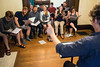A group of singers are lead in rehearsal by conductor Alex Enyart at the Thompson Street Opera Company. 5/20/16