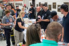 A line backed up at Freedom Hall on Sunday as NRA members were treated to a book signing by legendary rocker and gun rights advocate Ted Nugent. 5/22/16