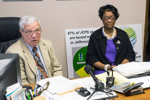 Attorney Teddy Gordon held a press conference on Thursday morning to announce pending legal action in the case of Mattie Mills. Mills is a JCPS substitute teacher recently promoted and then demoted without a clear reason given. 5/26/16