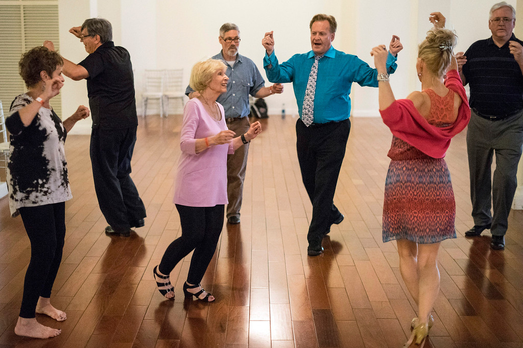 The premier edition of the Louisville Tango Festival began on Friday afternoon at The Gillespie as beginners were treated to lessons from area instructors. 5/27/16