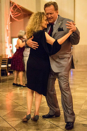 Andy Blair and Deborah Denenfeld feel the moment during the Louisville Tango Festival on Friday night. 5/27/16